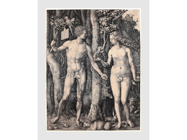 Albrecht Dürer (German, 1471-1528); Adam and Eve;