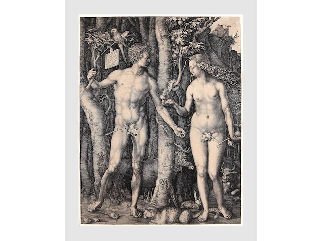 Albrecht Dürer (German, 1471-1528); Adam and Eve;
