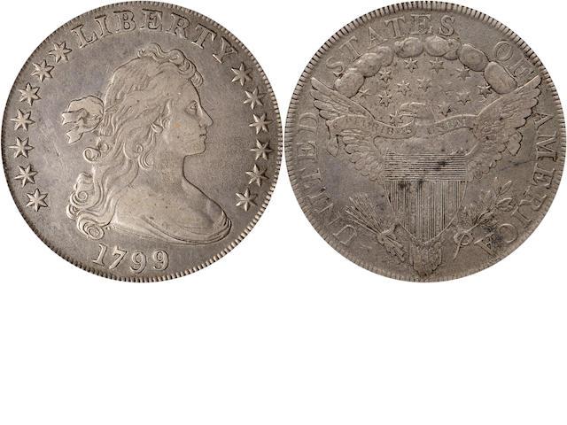 1799 $1 7x6 Stars VF35 PCGS