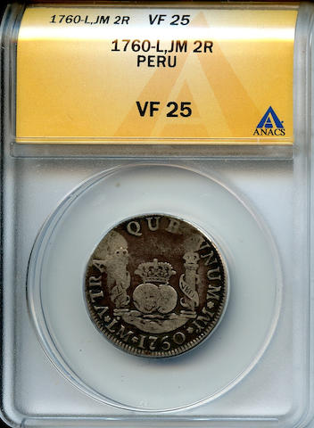 1760-L, JM 2R Peru VF25 ANACS