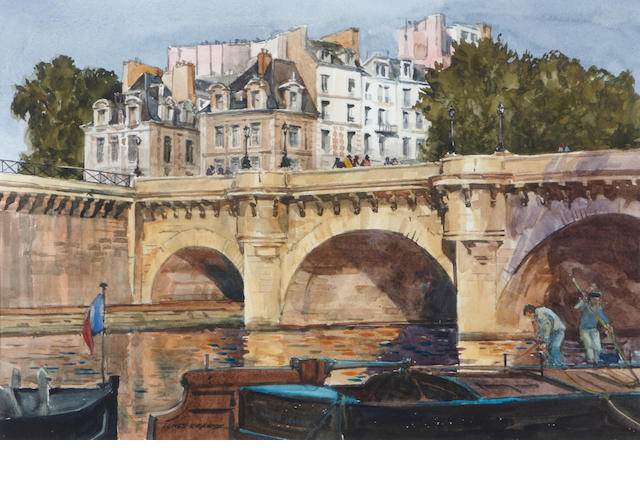 James Kramer Pont Neuf