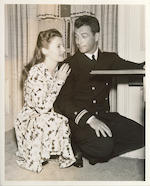 A Barbara Stanwyck and Robert Taylor custom-made sideboard, 1940s