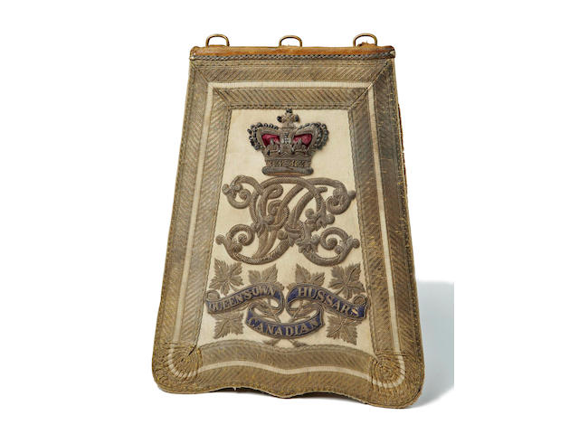 Queens Own Canadian Hussars Full Dress Sabretache