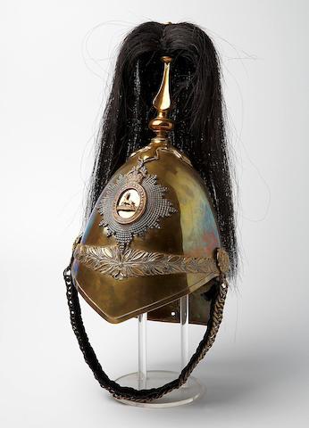 Bonhams : Royal Canadian Dragoons 1871 Pattern Helmet