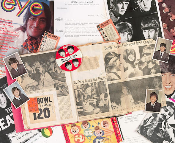A Beatles-related impressive archive of paperwork, 1964-1980s