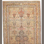 A Kerman carpet South Central Persia, size approximately 11ft. 9in. X 22ft. 8in.