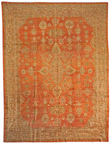 A Sultanabad carpet Central Persia, size approximately 9ft. 2in. x 12ft. 2in.