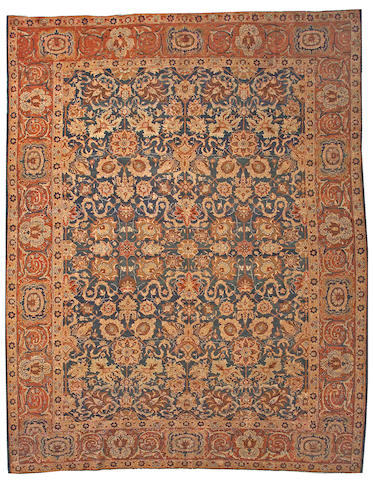 A Tabriz carpet Northwest Persia, size approximately 10ft. 4in. x 13ft. 7in.