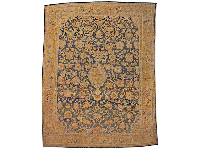 A Malayer carpet Central Persia, size approximately 10ft. 9in. x 13ft. 9in.