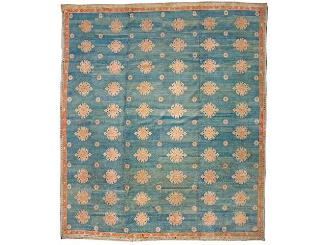 An Agra carpet India, size approximately 12ft. 2in. x 14ft.