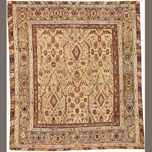 A Northwest Persian carpet Northwest Persia, size approximately 6ft. 7in. x 7ft. 5in.