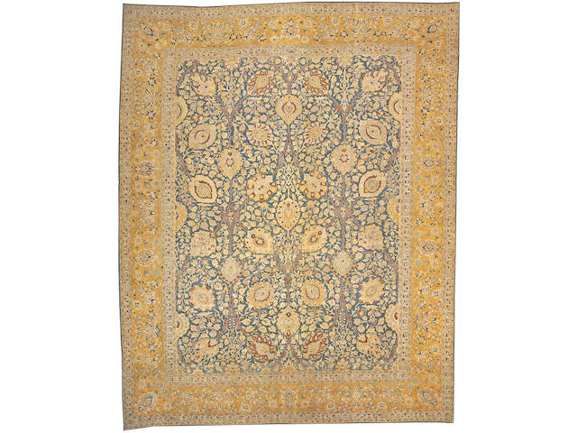 A Tabriz carpet Northwest Persia, size approximately 13ft. 1in. x 16ft. 6in.