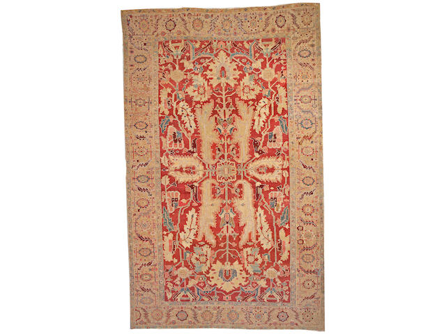 A Serapi carpet Northwest Persia, size approximately 9ft. x 14ft. 10in.