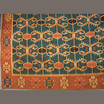 A Kilim size approximately 13ft. 1in. x 16ft.
