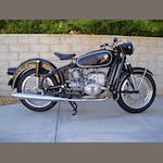 1959 BMW 590cc R60 Frame no. 619933 Engine no. 619933