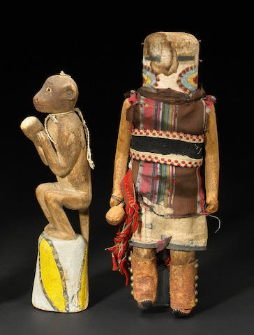 Two Pueblo dolls