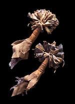 A pair of Navajo rattles