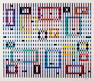 Yaacov Agam (Israeli/British, born 1928); Untitled (Geometric Composition);