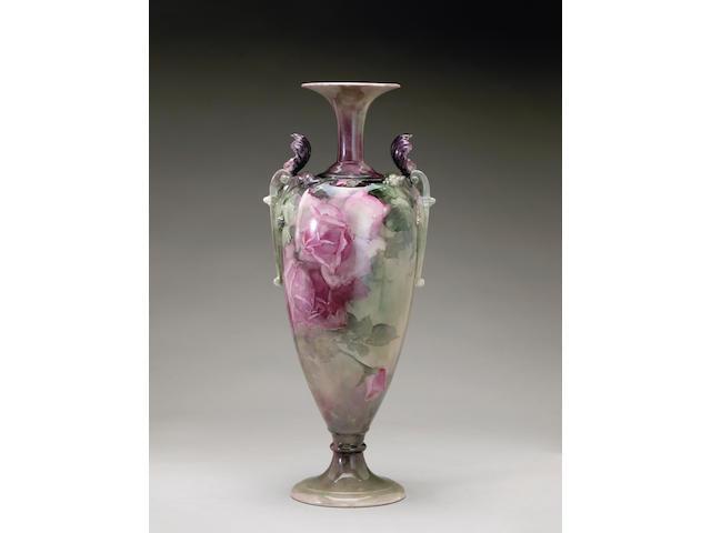 Franz Arthur Bischoff Pink Roses, 1902