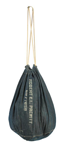 "A Montgomery Clift duffel bag from ""From Here to Eternity"""