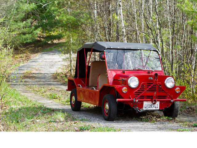 1967 Mini Moke  Chassis no. A-ABIL-817800