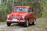 1959 FIAT 600 Two-Door Sedan  Chassis no. 100 553647