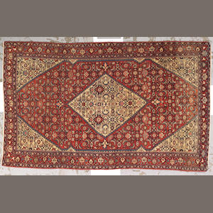 A Fereghan rug Central Persia, size approximately 4ft. x 6ft. 5in.