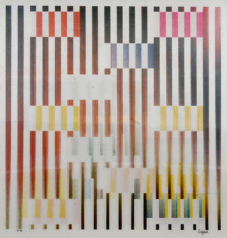 Yaacov Agam (Israeli/British, born 1928); Untitled (Composition);