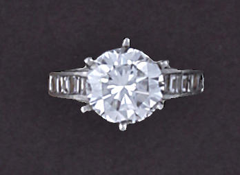 A diamond solitaire ring, Bailey, Banks & Biddle