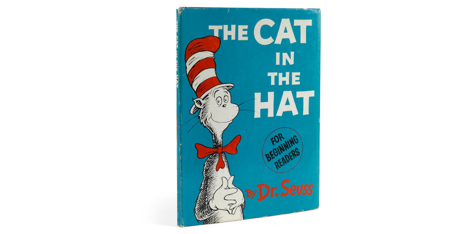 GEISEL, THEODOR SEUSS. 1904-1991. The Cat in the Hat. [New York]: Random House, [1957].
