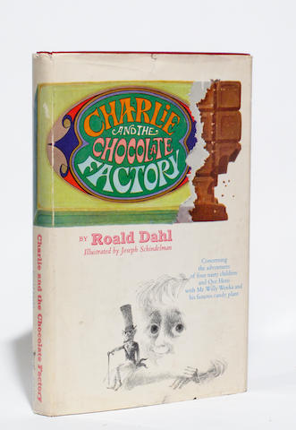 DAHL, ROALD. 1916-1990. Charlie and the Chocolate Factory. New York: Alfred A. Knopf, [1964].