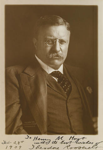 T. Roosevelt Photo Sgd.
