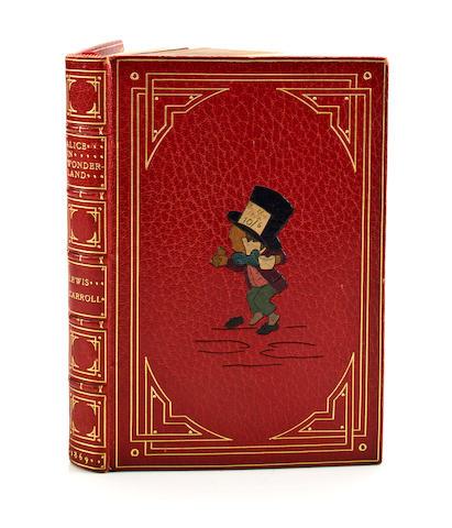 DODGSON, CHARLES LUTWIDGE. 1832-1898. Alice's Adventures in Wonderland. London: Macmillan, 1869.