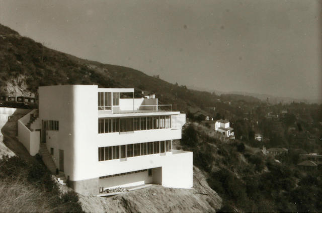 Julius Shulman Kun Residence, by Neutra, 1936/later Gelatin silver print