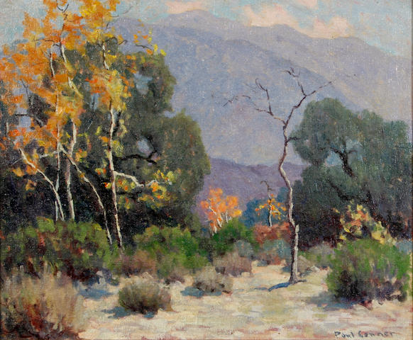 Paul Conner (American, 1881-1968) Big Santa anita Canyon