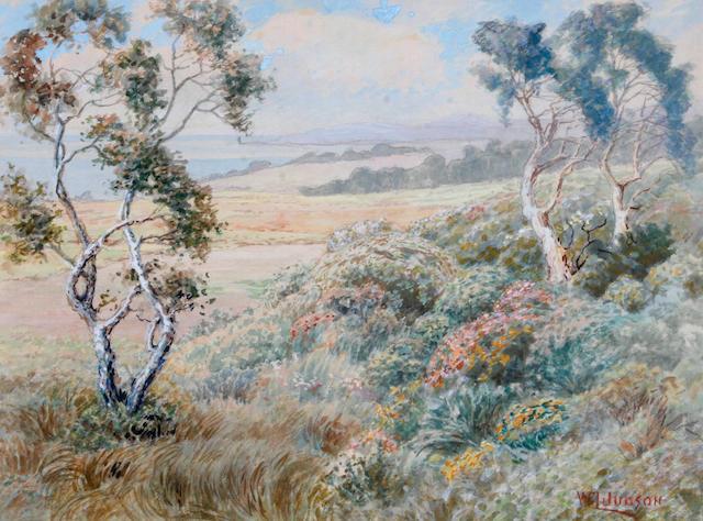 William Lees Judson (American, 1842-1928) Pacific Coast Spring