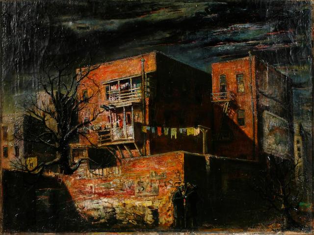Joseph Mugnaini (Italian, born 1912) Back Alley Spirits