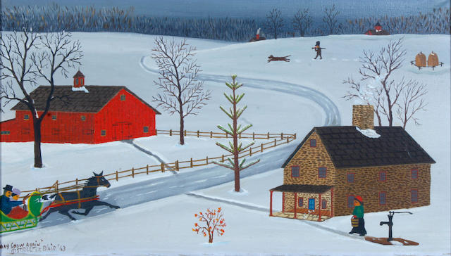 Streeter Blair, 'May Snow Again', 1963