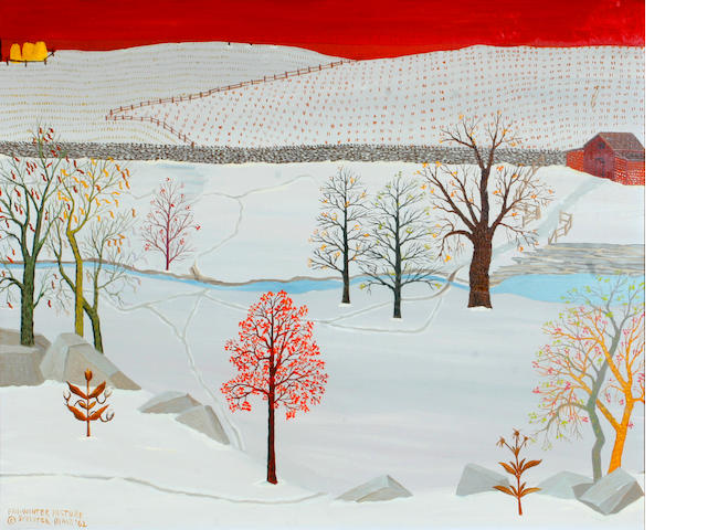 Streeter Blair, 'Fall-Winter Pasture' 1962