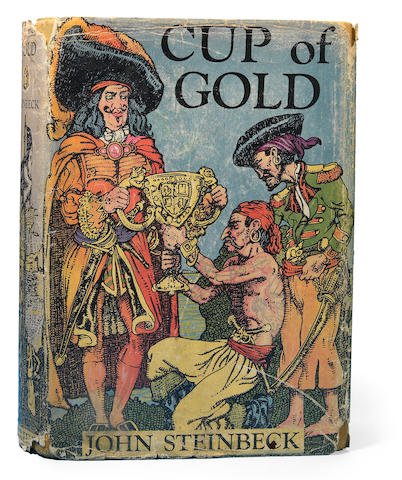STEINBECK, JOHN. 1902-1968. Cup of Gold. New York: Robert M. McBride, 1929.
