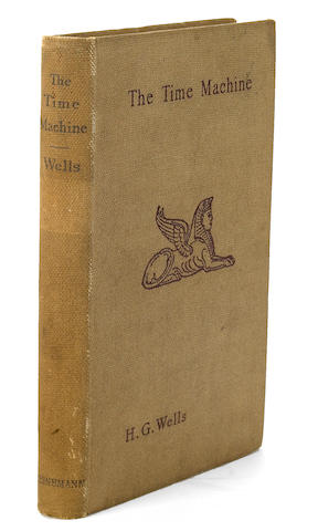 WELLS, H.G. 1866-1946. The Time Machine: an Invention. London: William Heinemann, 1895.