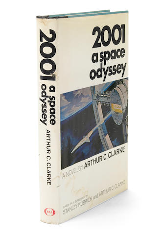 CLARKE, ARTHUR C. 2001: a Space Odyssey. [New York]: New American Library, [1968].