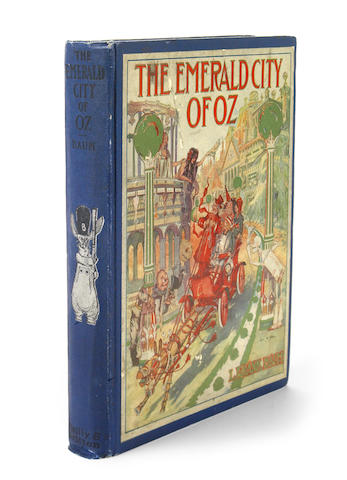 BAUM, L. FRANK. The Emerald City of Oz. Chicago: Reilly & Britton, [1910].