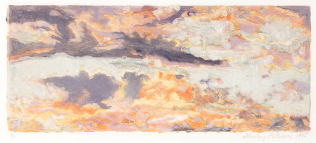 Shirley Pettibone, Evening Sky 7, 1995, print