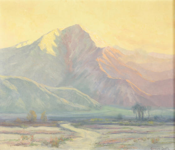 Gordon Coutts (Scottish/American, 1868-1937) View of Mt. Jacinto
