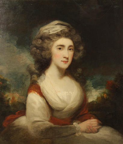 A portrait of Mrs. Seymour after Sir Joshua Reynolds;