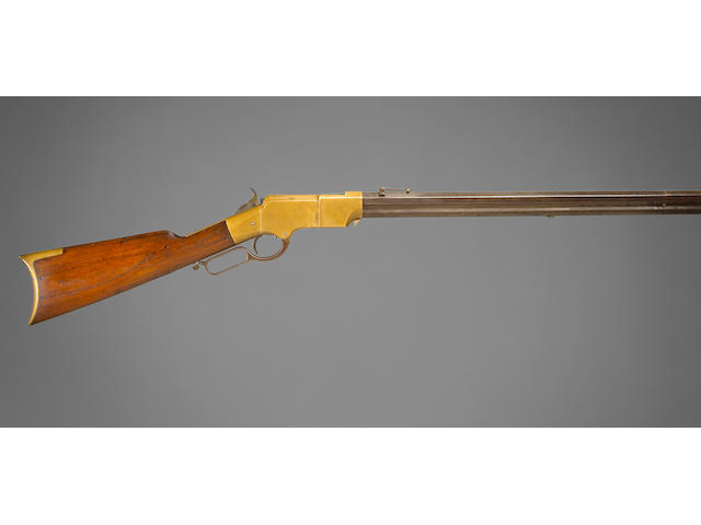 A Henry Model 1860 lever action rifle
