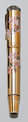 MONTBLANC: Sakura Precious Version Limited Edition 88 Limited Edition Fountain Pen