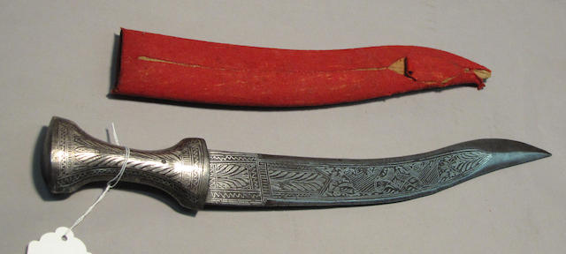 A large Indian dagger