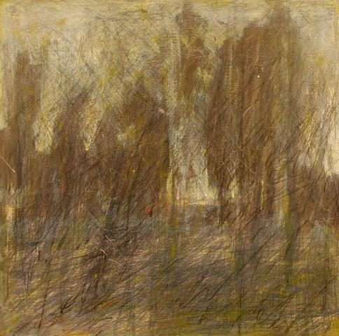 Sergei Tivetsky (Russian, 20th century) Magi Road 36 x 36 1/2in unframed